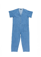 Load image into Gallery viewer, Ilana Kohn Henry Denim Jumpsuit