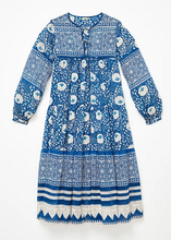 Load image into Gallery viewer, Matta Yamini Booj Dress- Ocean