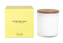 Load image into Gallery viewer, Le Feu de L'Eau Citrus + Bergamot candle