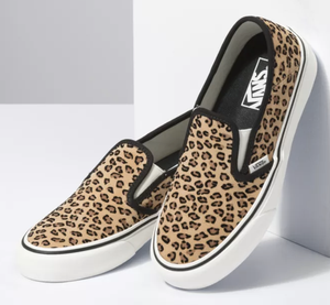 Vans Mini Leopard Slip On