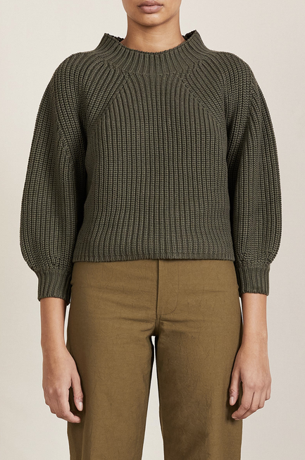 A Piece Apart Merel Funnel Neck Sweater