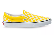 Load image into Gallery viewer, Vans Cyber Yellow Checkboard Slip On