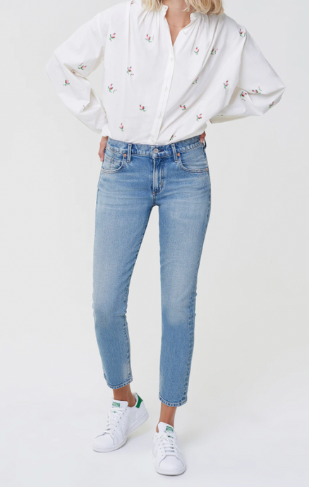 Citizens of Humanity Elsa Mid Rise Slim Fit in Refresh