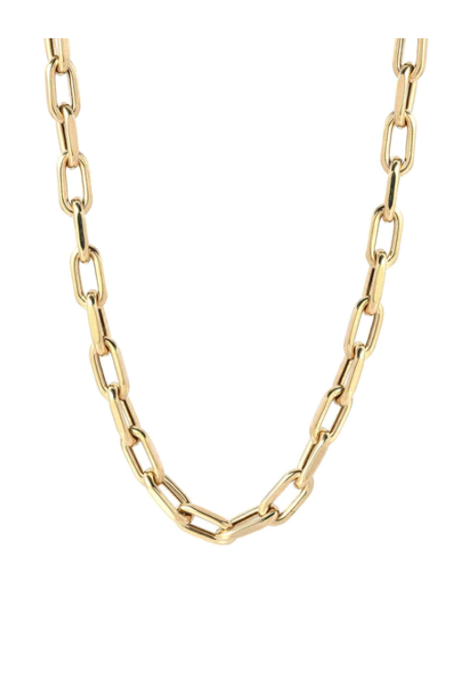 14K Gold Large Open Link 18