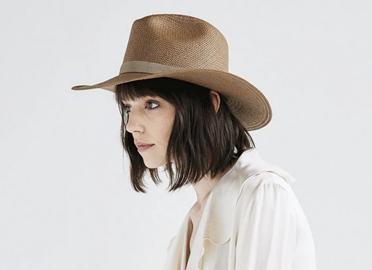 Janessa Leone Adriana Packable Hat