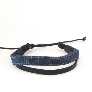 Blue Denim Bracelet