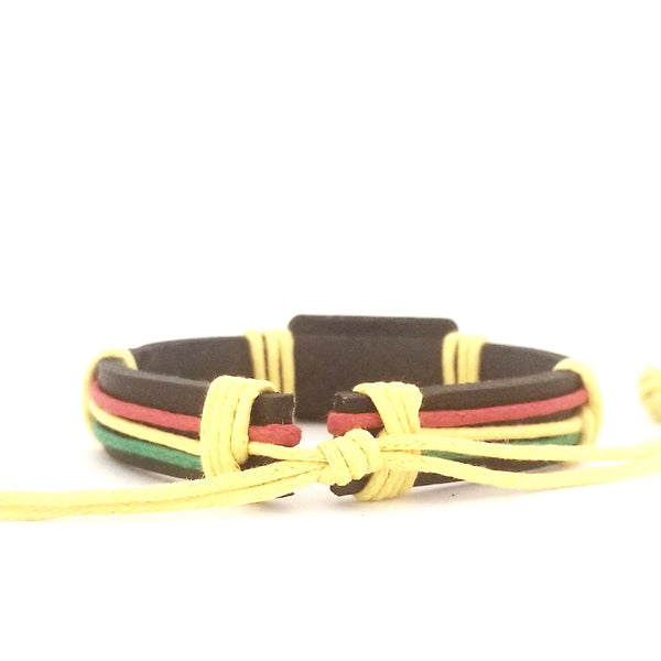 Jesus Red/Yellow/Green Bracelet