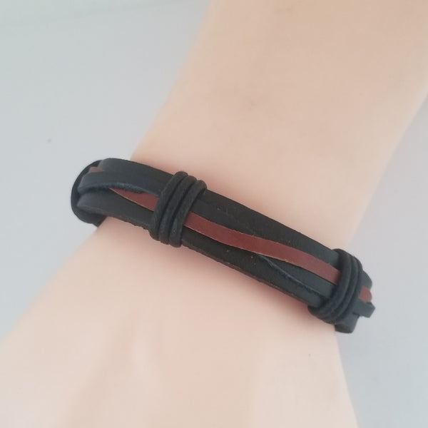 Western Inspired Leather Bracelet