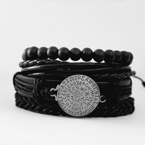 Dreams Leather Bracelet Set