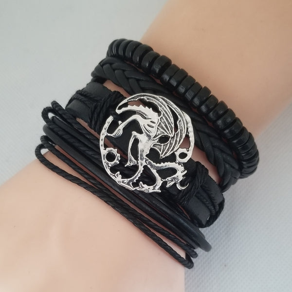Polycephaly Dragon Bracelet Set
