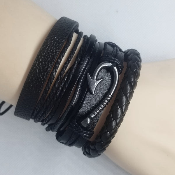 Hook Multilayer Bracelet Set