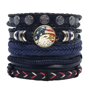 Eagle Multilayer Bracelet Set
