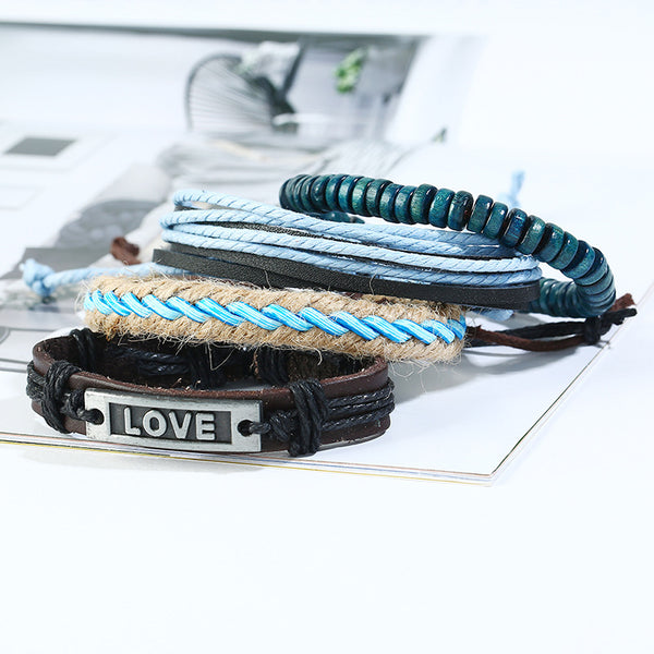 Love Leather Bracelet - Silverado Outpost