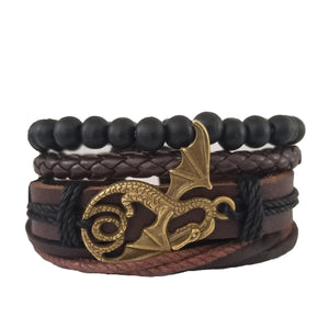 Flying Dragon Bracelet Set
