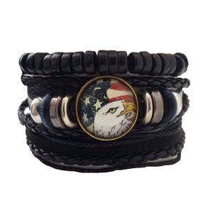 Bald Eagle Bracelet Set - Silverado Outpost