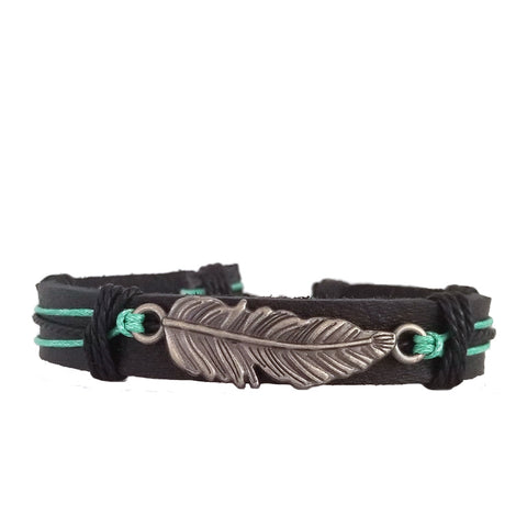 Native American Inspired Feather Bracelet