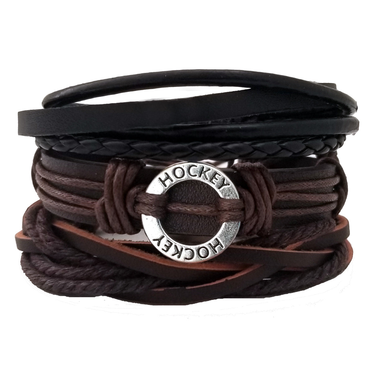 Hockey Multi-Layer Bracelet Set - Silverado Outpost