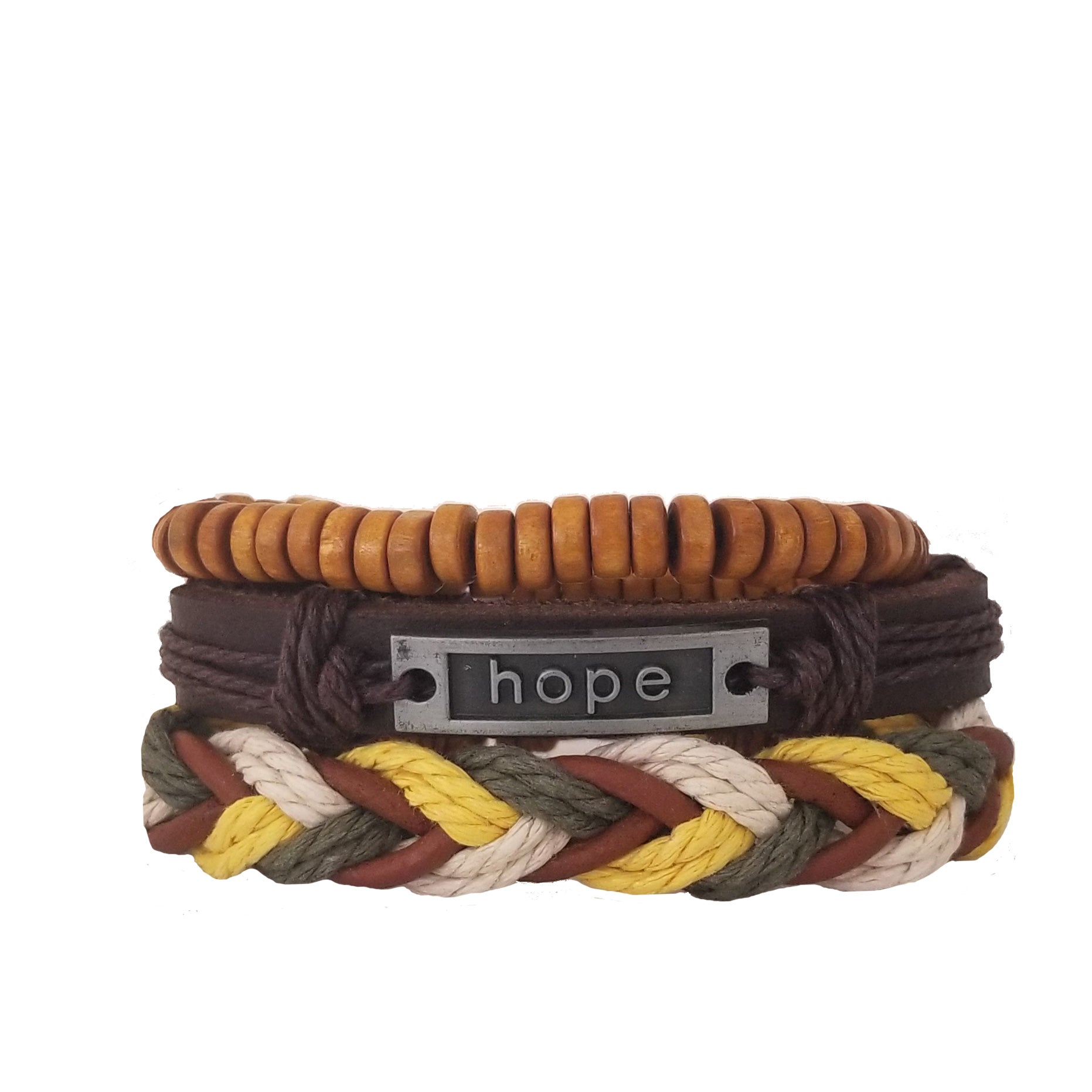 Hope Multi-Color Bracelet Set