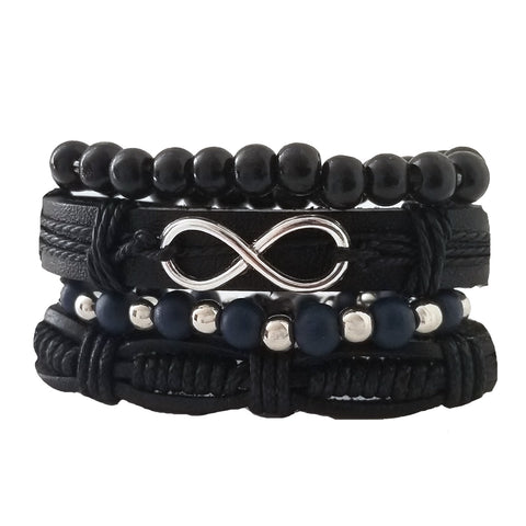 Infinity Multilayer Bracelet Set - Silverado Outpost