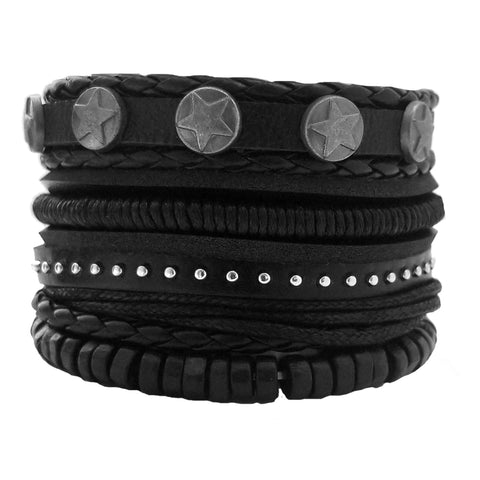 Star Multilayer Bracelet Set - Silverado Outpost