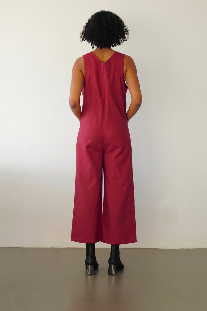 Lou jumpsuit - terracotta
