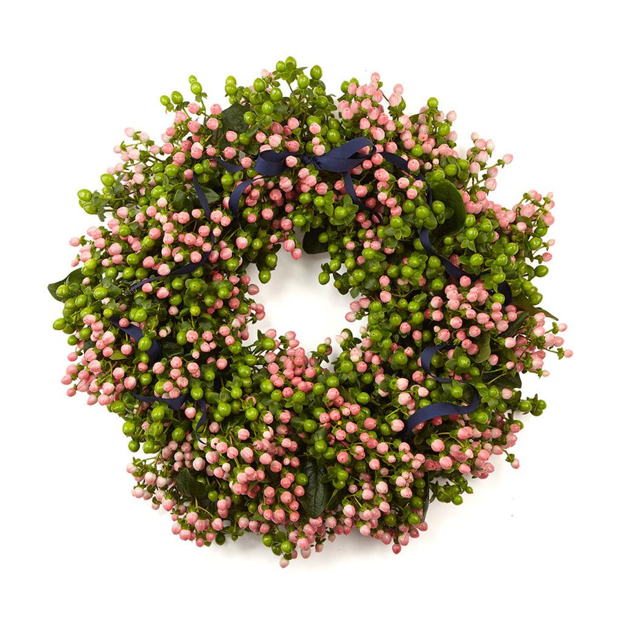 The Pink Coco Door Wreath