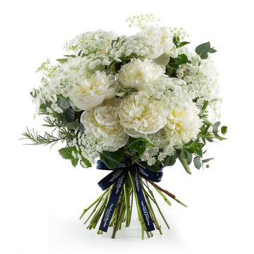 The White Peony Bouquet - Hayford & Rhodes International