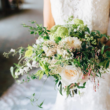 The Wild Bridal Bouquet