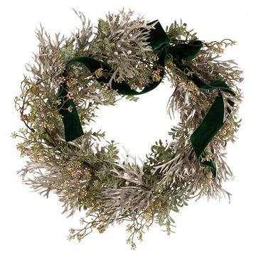 The Mistletoe Faux Door Wreath - Hayford & Rhodes International