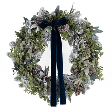 The Scandi Faux Door Wreath