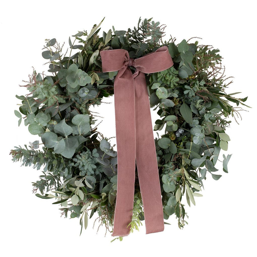 The Nordic Door Wreath