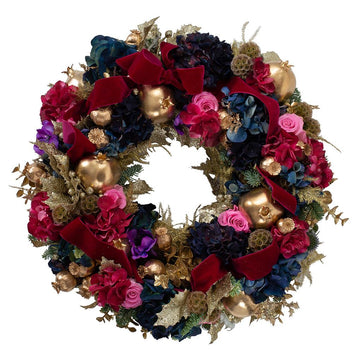 The Luxe Door Wreath - Hayford & Rhodes International