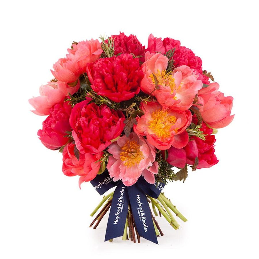 The Coral Peony Bouquet