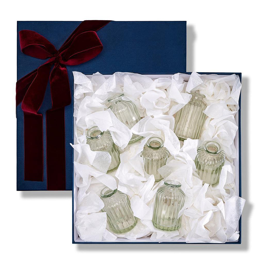 The Valentine's Day Apothecary Bud Vase Set - 'Arranged By You'