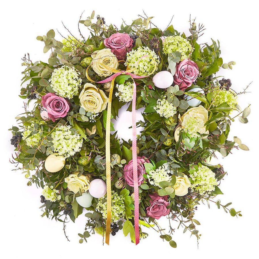 The Easter Door Wreath