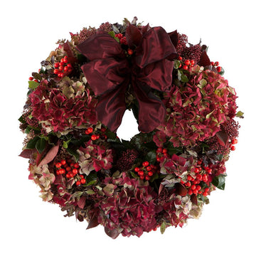 The Ruby Door Wreath - Hayford & Rhodes International