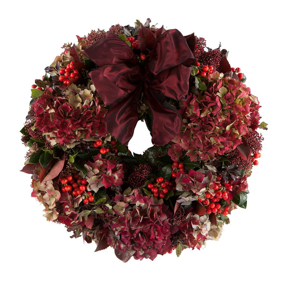 The Ruby Door Wreath