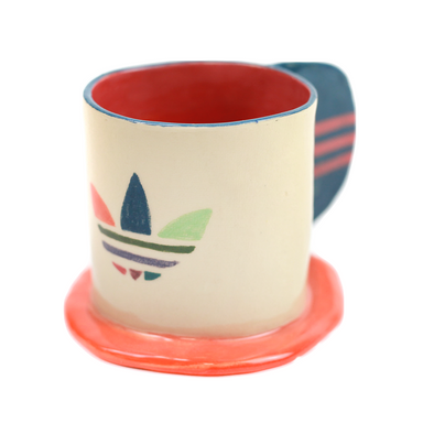 Adidas mug by Rebeka Rácz