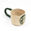 Ceramic Starbucks Mug by Rebu Ceramics