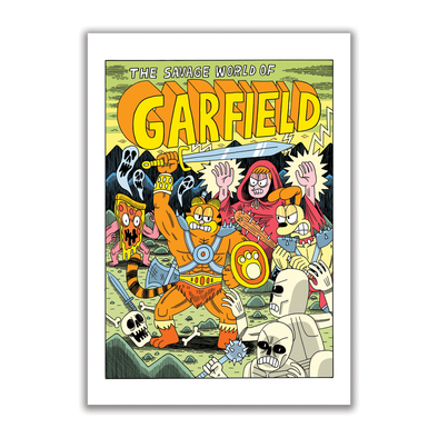 Garfield Risograph Print *Signed*