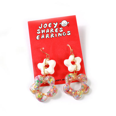 Confetti Earrings by Joey Shares