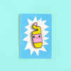 Hard Enamel Toilet Cleaner Bottle Pin by Eva Stalinski