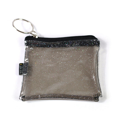 Corre Huye Purse - Black Glitter