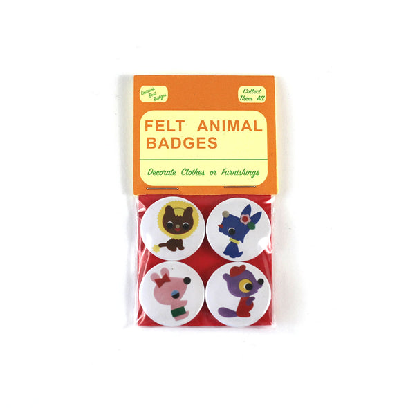 Badges by Mark Pawson