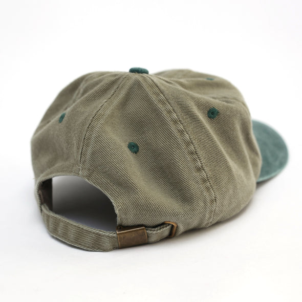 Have A Nice Day Cap (Tan/Green)