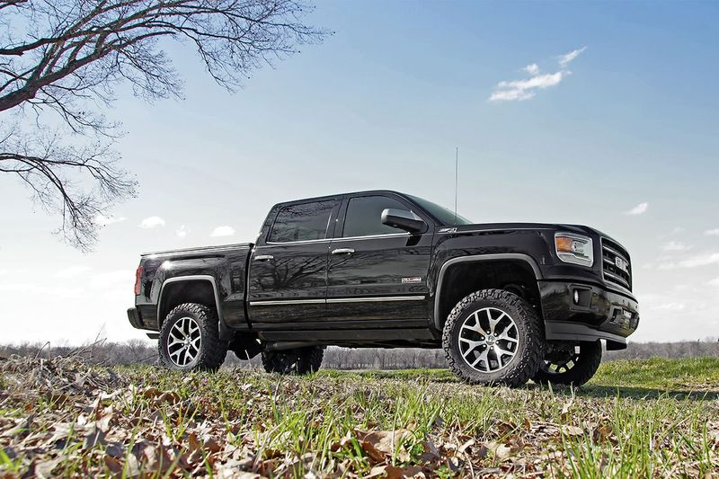 6 Inch Lift Kit For Chevy 1500 4wd >> Rough Country 6