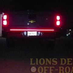 Triple Row LED Tailgate Brake Lights Strip