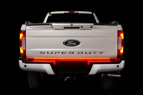 "PUTCO 60"" RED BLADE LED TAILGATE LIGHT BAR FOR FORD TRUCKS w/ BLIS & TRAILER DETECTION"