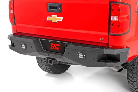 ROUGH COUNTRY HEAVY-DUTY REAR LED BUMPER | 2014-2018 CHEVY SILVERADO 1500