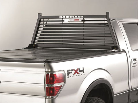 1999-2006 CHEVY/GMC LOUVERED BACKRACK | BLACK, HARDWARE REQUIRED